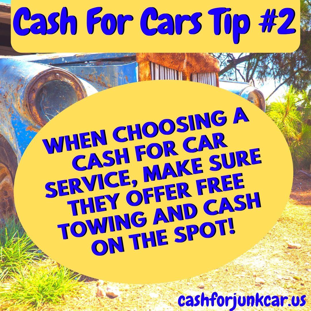 Cicero Cash For Cars Tip - Cicero Junk Car Tip 2