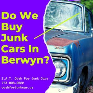 Do We Buy Junk Cars In Berwyn