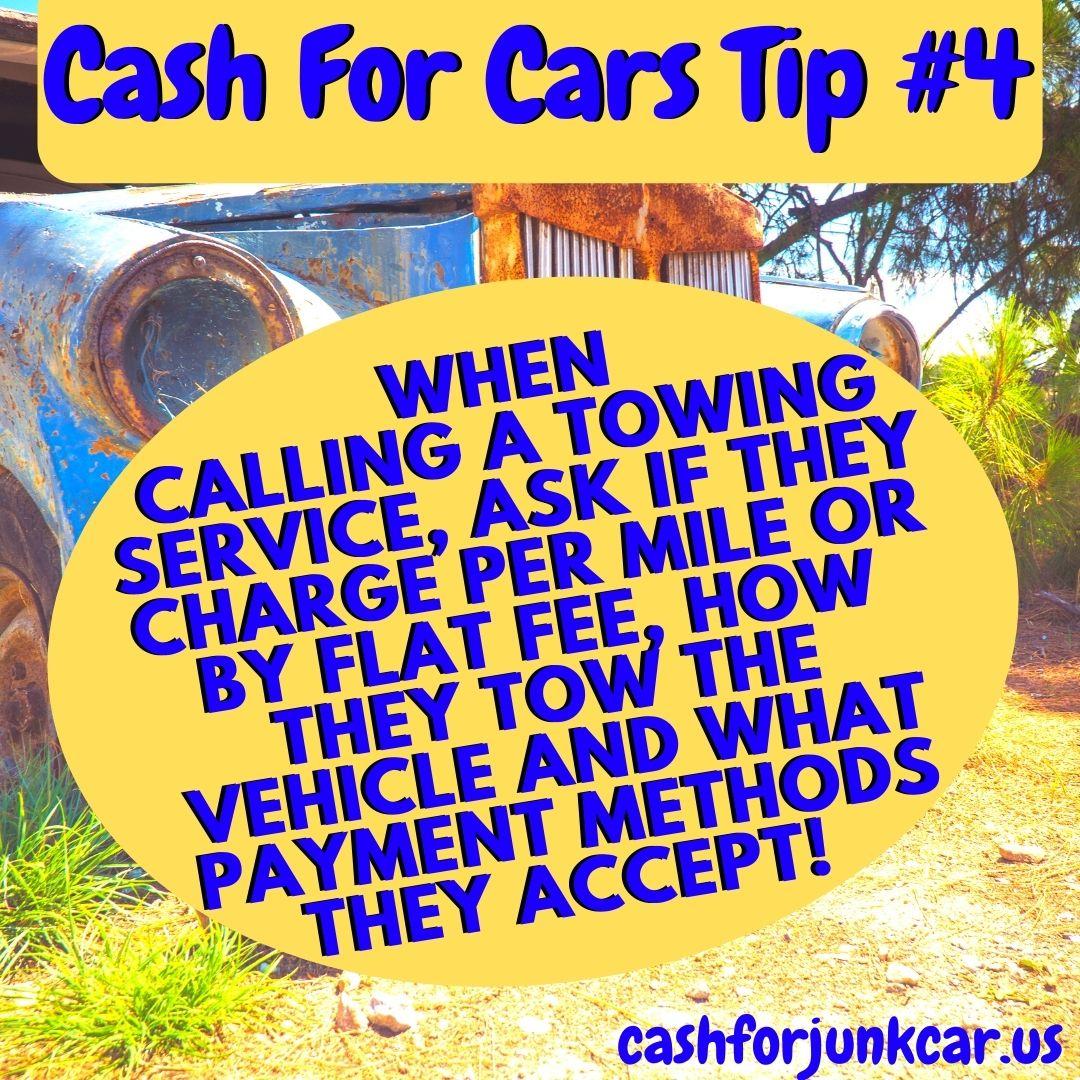 Oak Lawn Cash For Cars Tip - Oak Lawn Towing Tips