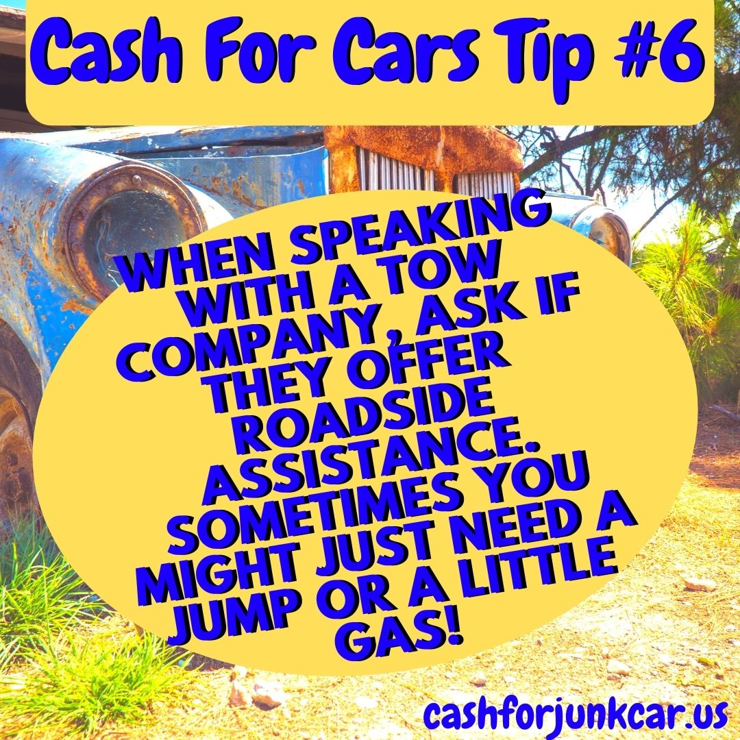 Palos Hills Cash For Cars Tip 6 - Palos Hills Towing Tips