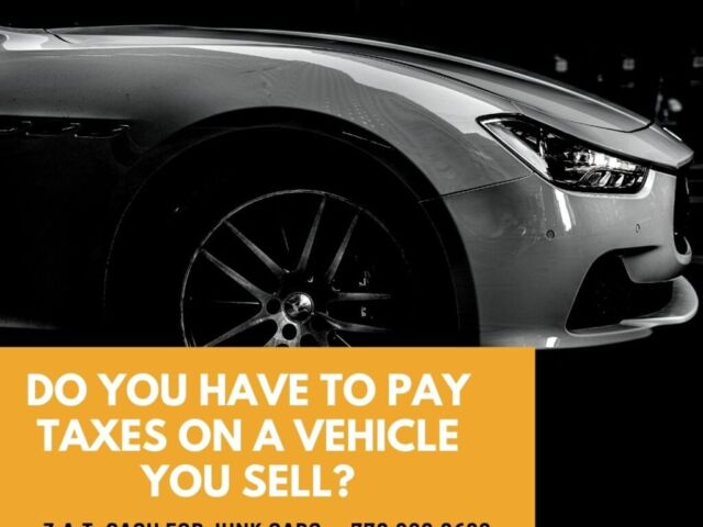 Do You Have To Pay Taxes On A Vehicle You Sell e1613149158560 thegem blog justified - HOME - JUNK CARS